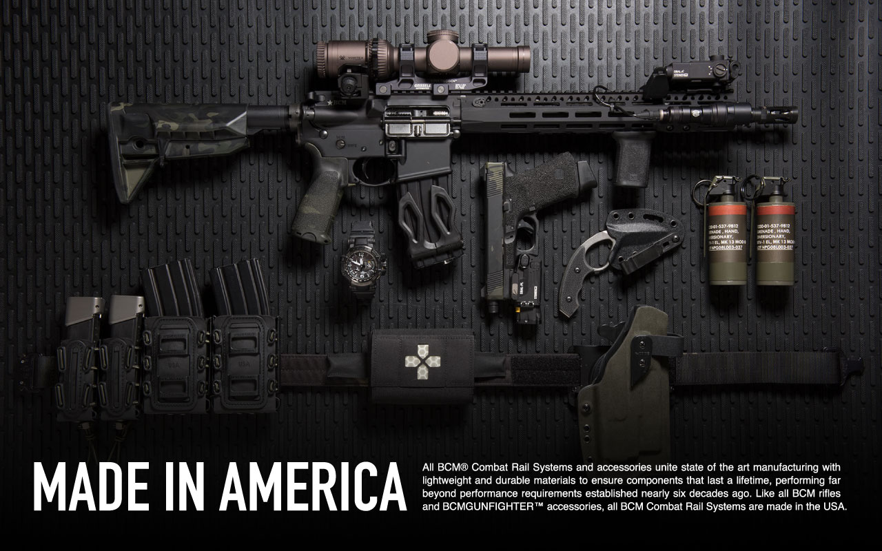 Bcm combat rail systems bcm rifle company - Gunfighter wallpaper ...